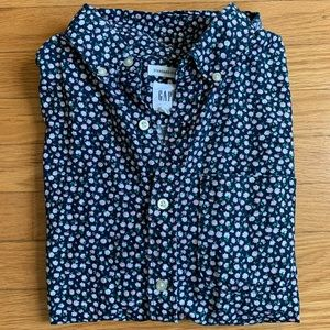 Gap Floral Short-Sleeve Standard Fit Top - Men's